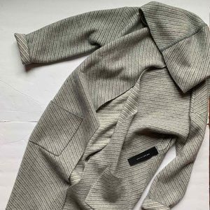 NWT $595 Tahari CASHMERE duster cardigan wrap S